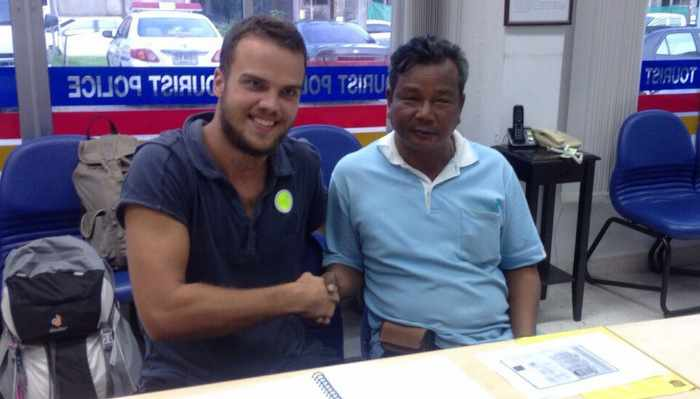 Grateful German student gets bag of cash back | Thaiger