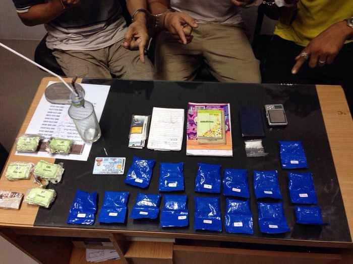 Police bust drug den in Phuket housing estate | Thaiger