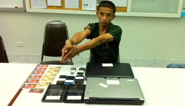 Phuket house burglar's rampage comes to abrupt end   Thaiger