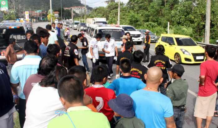 Police suspect kickstand played role in fatal Phuket motorbike crash | Thaiger