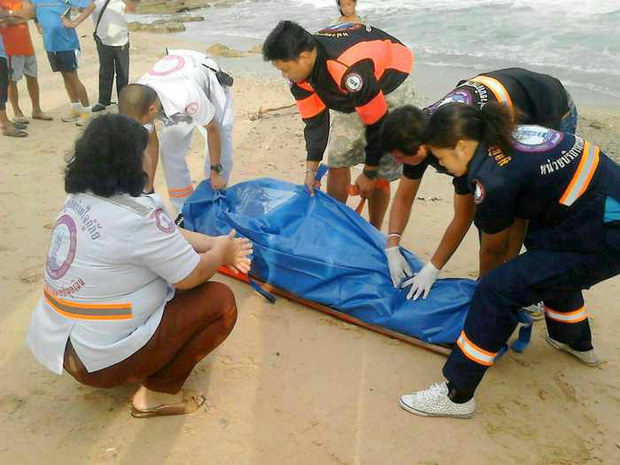 Body of musician, swept from Phuket rocks, found washed ashore | The Thaiger