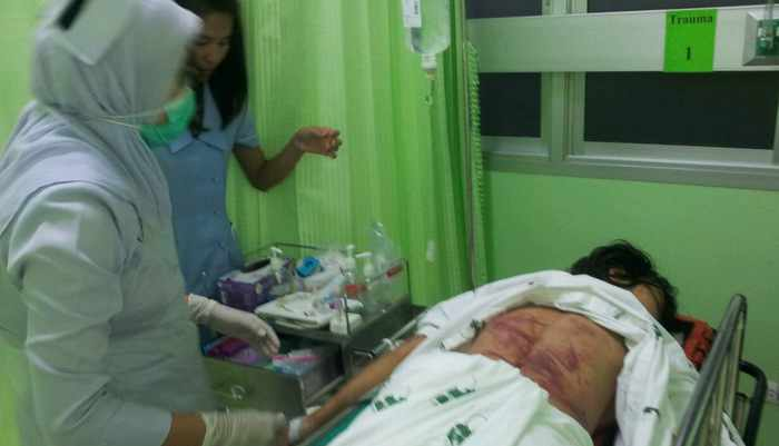 Man wanted for Phuket slasher attack surrenders to police | Thaiger