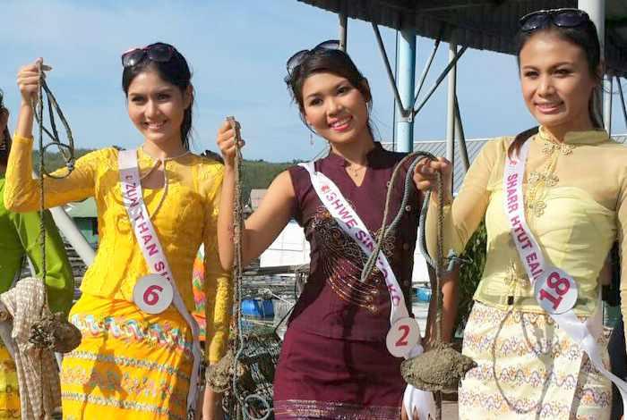 Miss Myanmar finalists tour Phuket | Thaiger