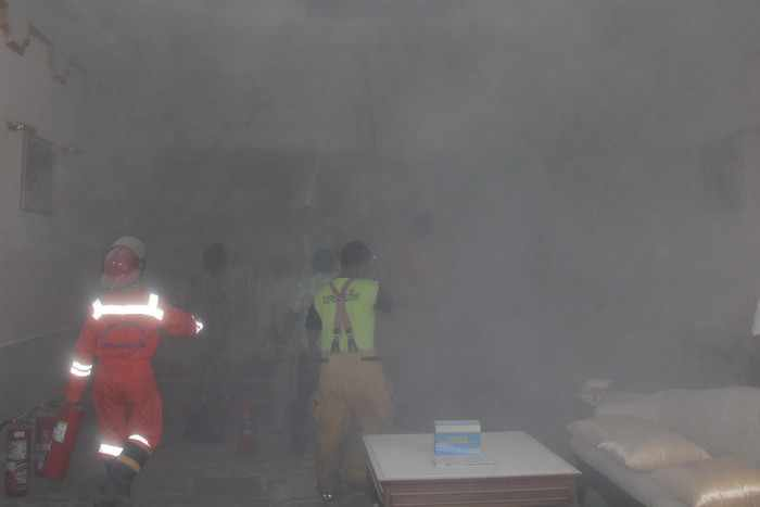 Phuket Provincial Hall smoked out during parlor fire | Thaiger