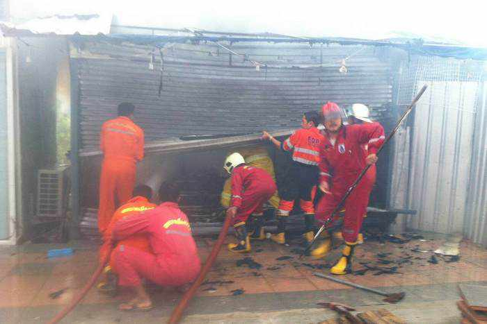Phuket soap shop fire causes B600k in damages | The Thaiger