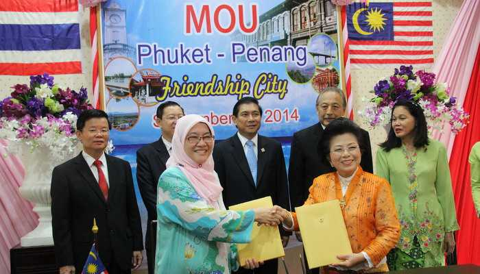 Phuket and Penang become twin cities | The Thaiger