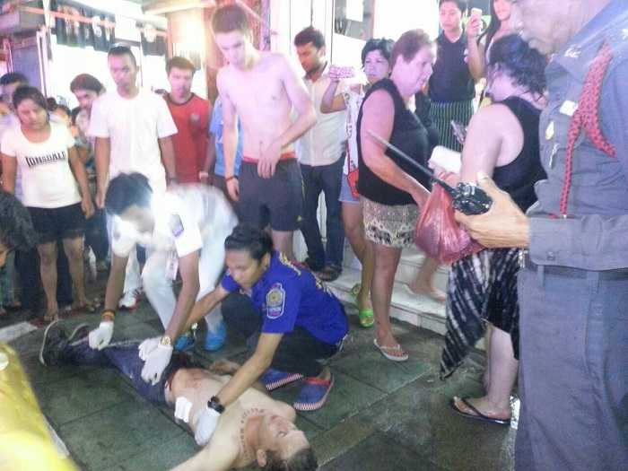 Australian tourist stabbed in Patong street fight with Thai teens | The Thaiger