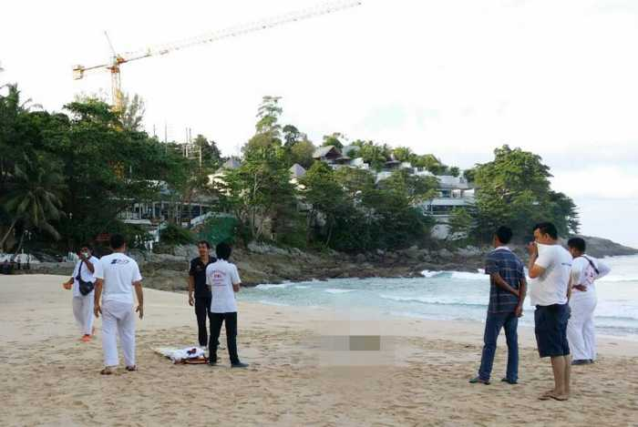 Body of woman with hands bound washes onto Phuket beach | The Thaiger