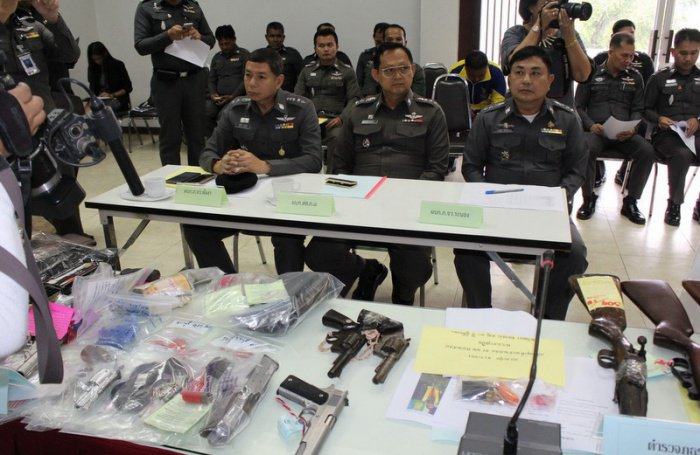 Region 8 Police seize more than 100 guns in crackdown | The Thaiger