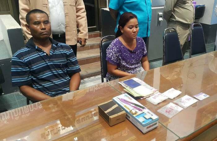 Myanmar couple arrested for dealing meth | The Thaiger
