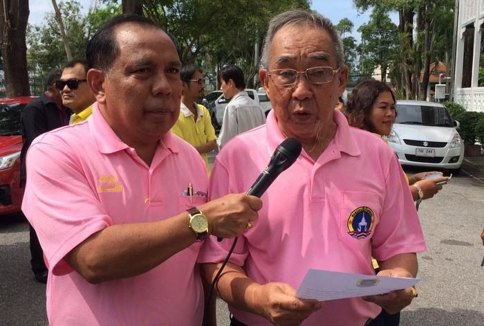 Phuket locals protest US Amb's lese majeste comments | The Thaiger