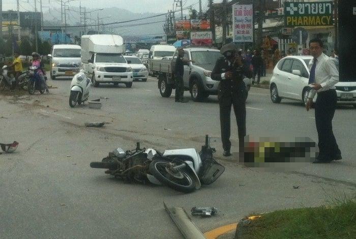 Drunk minivan driver kills Phuket police officer [video]   Thaiger