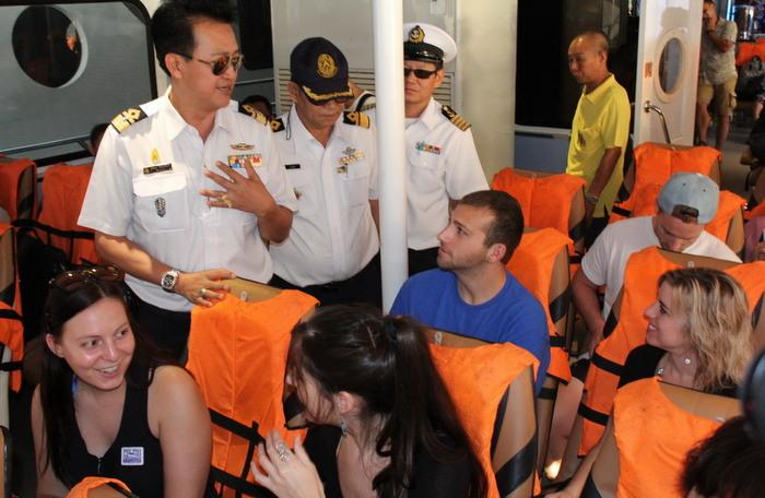 Annual safety checks on tourist boats begin | The Thaiger
