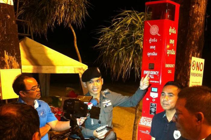 Patong Police to launch emergency call box service | The Thaiger