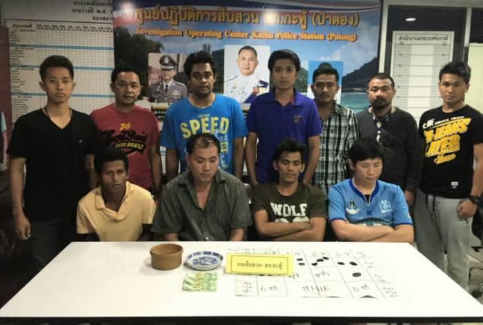 Illegal alien caught in Phuket gambling raid | The Thaiger