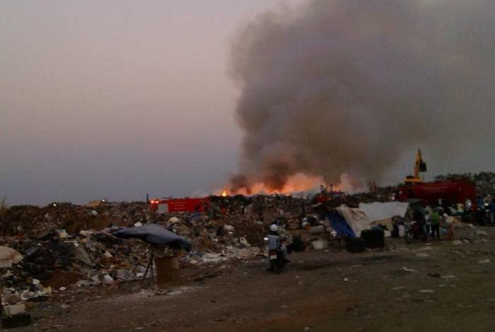 Phuket landfill fire posed no health risks, says environment official | Thaiger