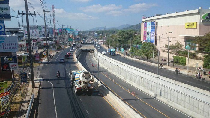 Phuket's first underpass set to open April 6 | Thaiger