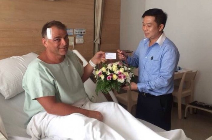 German tourist recovering after propeller slashes head | Thaiger