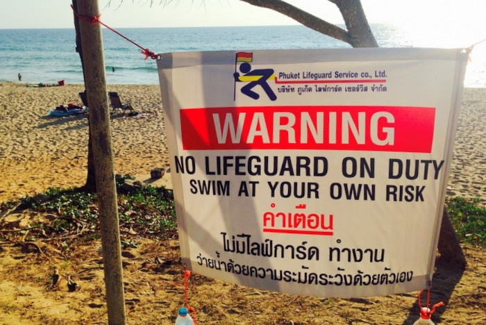 """Phuket lifeguards back on beaches """"within a week' 