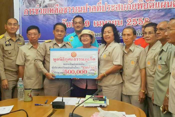 Phuket donations roll in to aid Nepal earthquake victims | The Thaiger