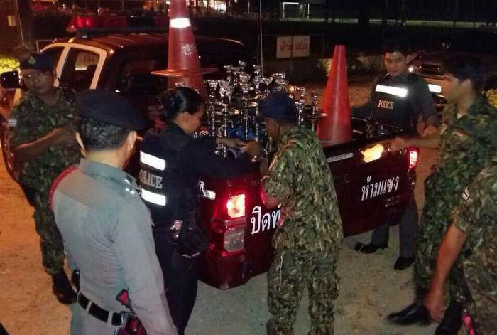 Police bust bar for hookahs, selling to minors | The Thaiger