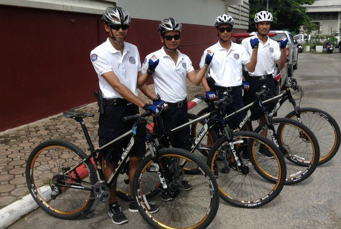 Beach police confident about positive effect [video] | Thaiger