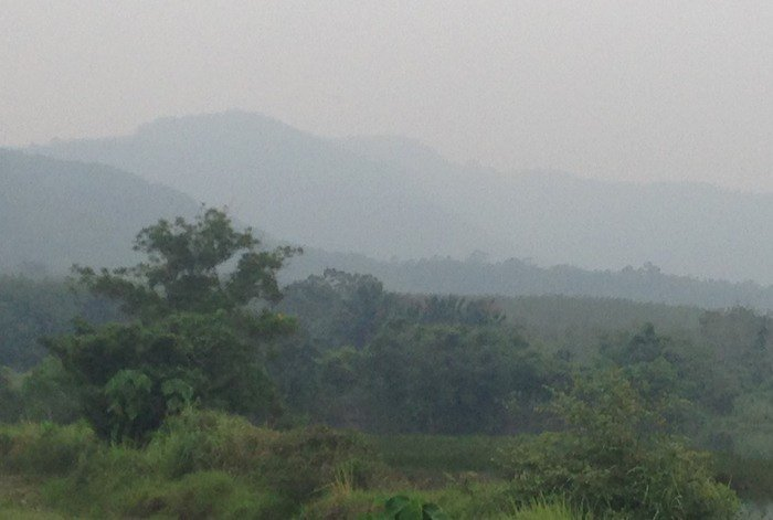 Phuket haze thick with health concerns | The Thaiger