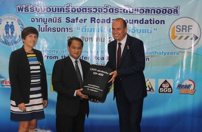Breathe into this: Phuket tackles drunk driving | The Thaiger