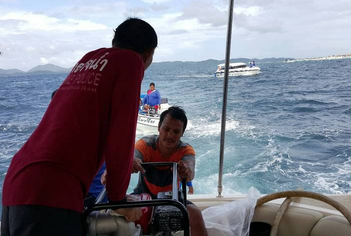 Ten rescued from teetering Phuket yacht | The Thaiger