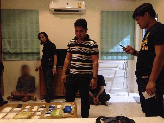 Phuket police charge six with category 1 drug offenses | The Thaiger