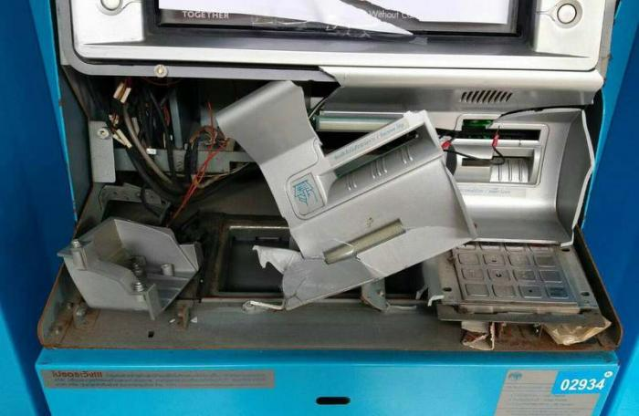 Man arrested for destroying Phuket ATM | The Thaiger