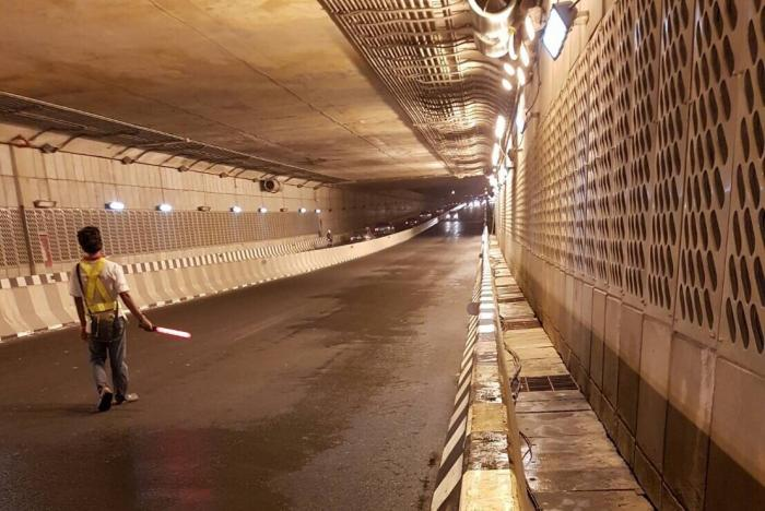 Samkong Underpass to be closed for sign installation | The Thaiger