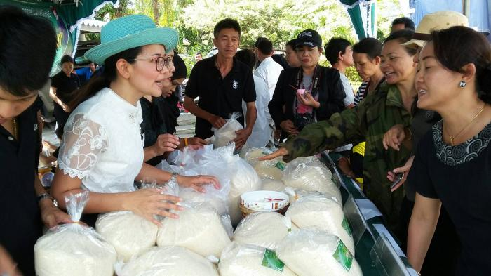 Eight tonnes of rice sold in 3 hours through co-op initiative | The Thaiger