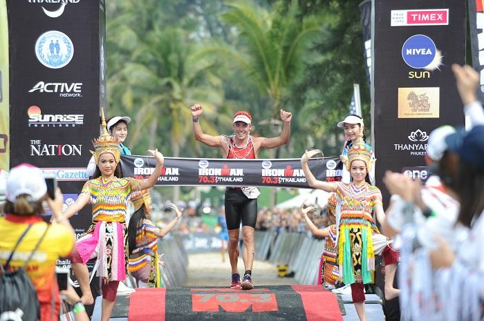 Tim Reed triumphs in Phuket's Foremost Ironman 70.3 | The Thaiger