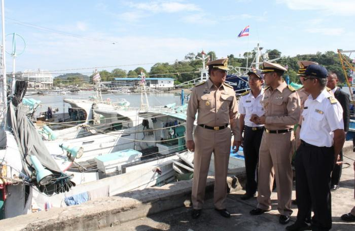 Foreign fishing boats seized for faking nationality | The Thaiger