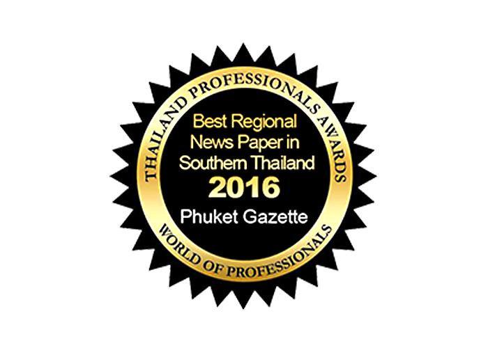 Phuket Gazette bags 'Best Newspaper in South Thailand' award | The Thaiger