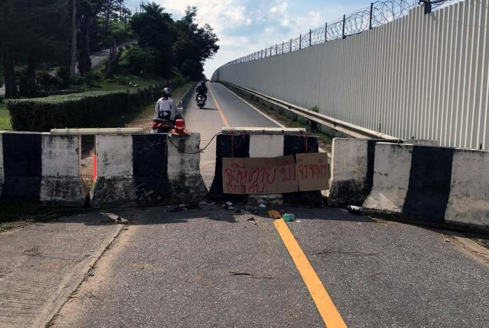Motorcyclist's death finally prompts action to fix airport road   The Thaiger