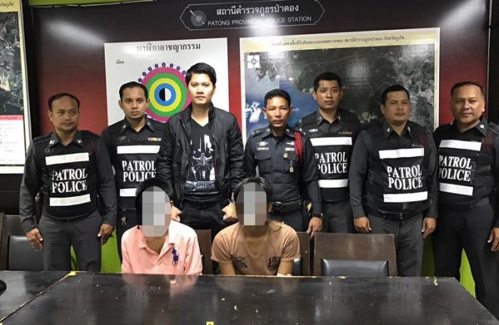 Two arrested for mobile snatching in Phuket | The Thaiger