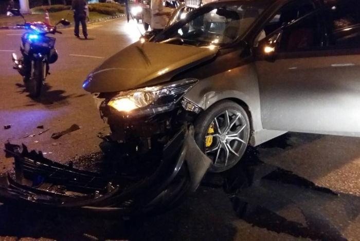 Police crash victim succumbs to head injury | The Thaiger
