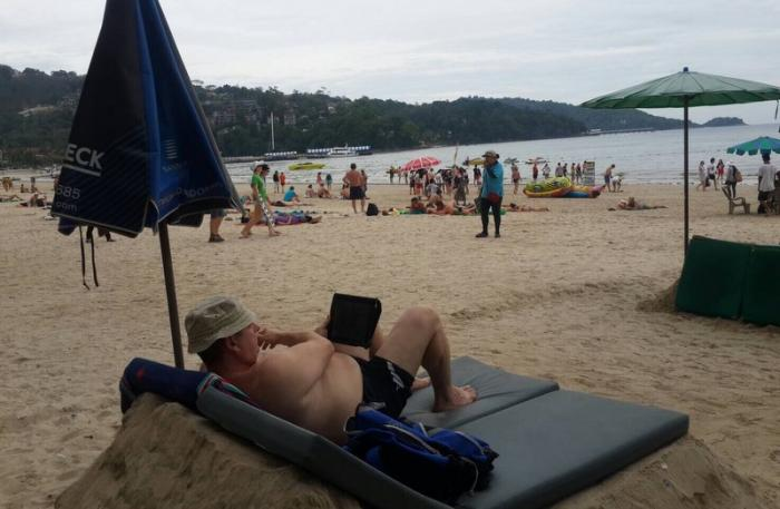 Raised sand beds 'not illegal': Patong Mayor | The Thaiger