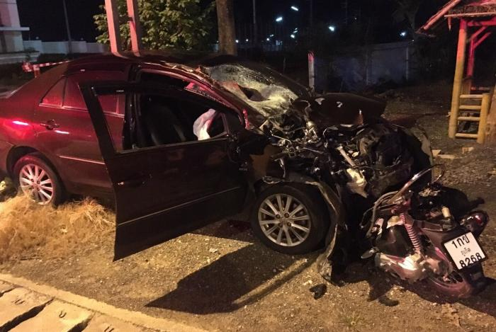 Head-on collision kills two more tourists in Phuket | The Thaiger
