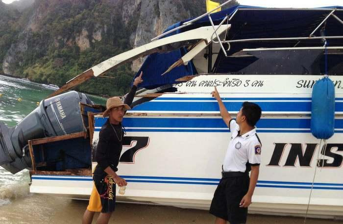 Another Phuket Boat Crash: Five Chinese tourists injured in speedboat | The Thaiger