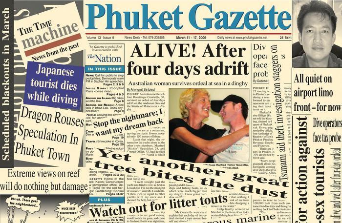 A Decade Ago: Phuripat and lost at sea   The Thaiger