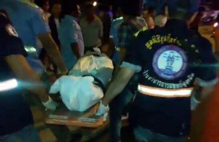 Dutchman dies in three-vehicle smash   The Thaiger