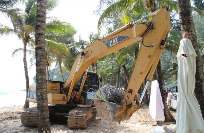 Demolition day announced for buildings on Phuket beaches   The Thaiger