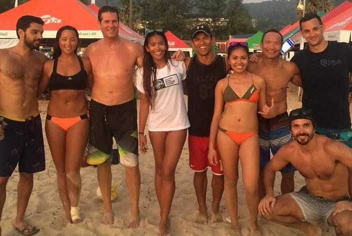 Beach Volley Festival finals served up at noon tomorrow | The Thaiger
