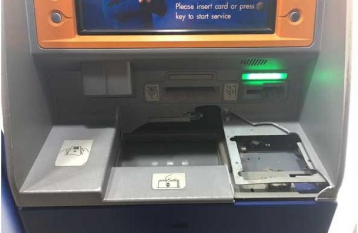 Phuket police hunt bank machine vandal | The Thaiger