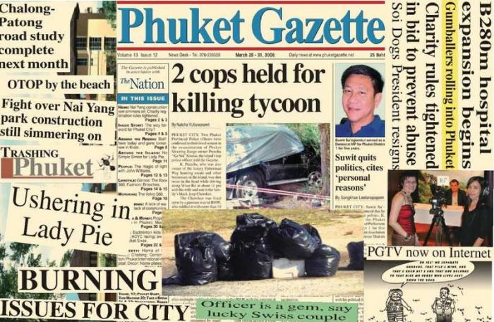A decade ago: Trash, pies and assassinations | The Thaiger