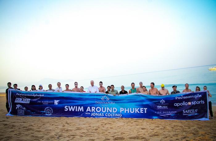Video Report: Ultraman champ splashes into 'Swim Around Phuket' | The Thaiger