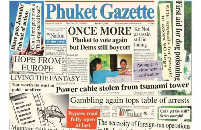 A Decade Ago: Parliamentary elections and cable thieves | The Thaiger